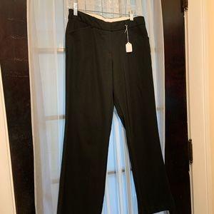 Worthington petite stretch, 6p black dress slacks